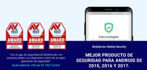 Bitdefender antivirus gratis para móvil Android