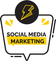 Social Media Marketing - Logo Vertical