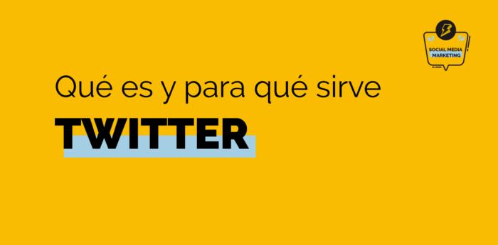 qué es y para qué sirve Twitter portada