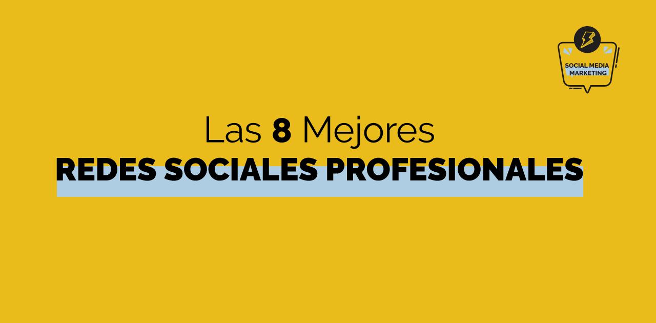ejemplos redes sociales para profesionales y tipos