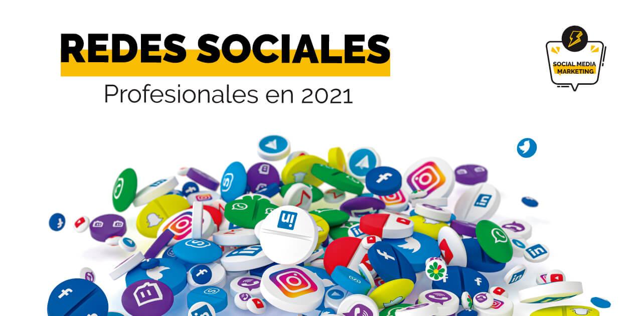 portada de las mejores redes sociales profesionales en 2021