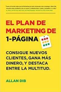 portada del libro el Plan de Marketing de 1-Página