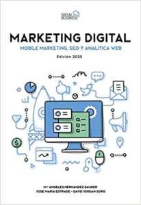 portada libro Marketing Digital. Mobile Marketing, SEO y Analítica Web