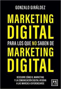 portada libro Marketing digital para Los Que No saben de Marketing Digital
