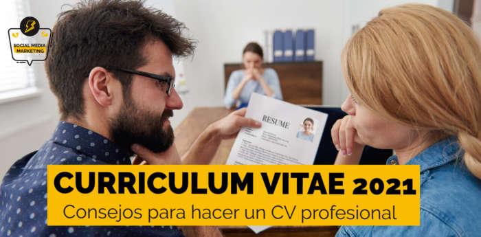 qué es un currículum vitae