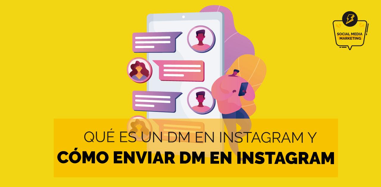 como enviar un dm en Instagram 2021